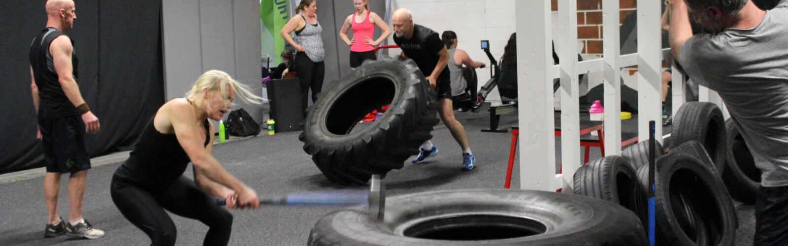Träning i gym