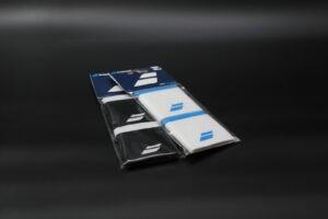 Babolat Svettband i två färger, blått och svart